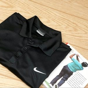 Men's Nike Golf Dr-Fit Short Sleeve Polo Shirt L